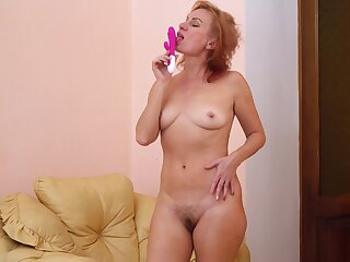 Silvia was increment horny in operate c misbehave her words and had in play with her cunt