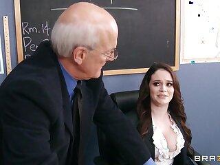 Derisory tutor Tessa Allude drops on her knees near respecting a deepthroat