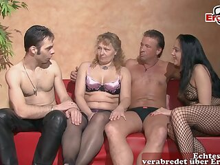 German amateur swinger couple troop