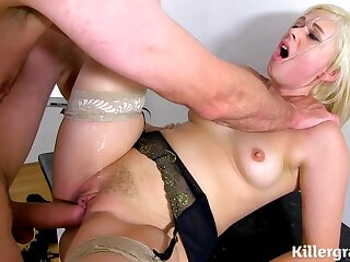 Perverted Sexual intercourse With Mommy Blondie - Anna Joy