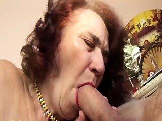 tasteless grandma fucked by her hairdresser