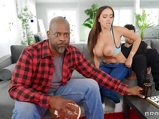 BRAZZERS: Unzip And Slip That Dick - Victoria June on PornHD